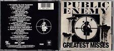 Public Enemy - Greatest Misses CD 1992
