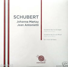 SEALED 180g - MARTZY / Schubert Violin Sonatinas / UK COUP d'ARCHET, COUP 020