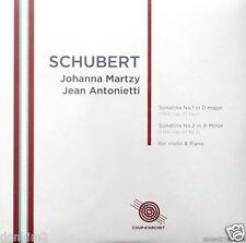 JOHANNA MARTZY / Schubert Violin Sonatinas / UK COUP d'ARCHET, COUP 020