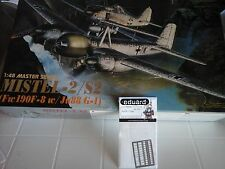MISTEL-2/S2(FW190 F8W/JU88G-1) 1/48 SCALE DRAGON MODEL+N.2 PHOTOETCHED PARTS