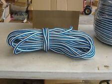Arborist 12 strand polyester climbing rope 1/2x150 feet Blue Ox tree