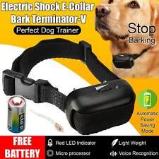 More details for petrainer anti bark shock dog trainer stop barking control pet training collar