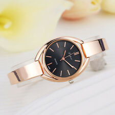 Elegant Women Lady Bracelet Stainless Steel Band Analog Quartz Sport Wrist Watch