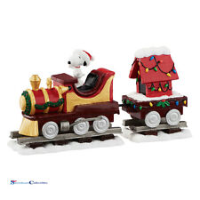 Department 56 Peanuts 4055828 Christmas Train Set New 2016