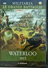 Waterloo 1815 Dvd Militaria Le Grandi Battaglie