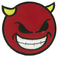 patch badge DEVIL fusible iron - on badge patch diabolik embroidered