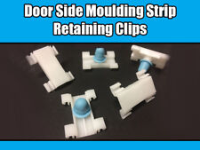 10x Trim Clips For Vauxhall Astra G & Zafira A Side Moulding Door White 90590995