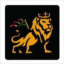 Car Decal Rasta Reggae JAH Macbook Lion of Judah One Love Rastafarai R14