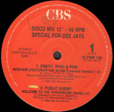 VARIOUS (EARTH, WIND & FIRE / PUBLIC ENEMY / A GUY CALLED GERALD) - CBS