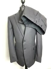 JAEGER Mens Wool Suit   Jacket 44R Trousers 38R   Classic 2 Piece Suit in Grey