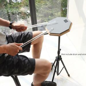 Floor Drum Stand Holder Adjustment Foldable w Carry Bag for Jazz Snare Dumb Drum