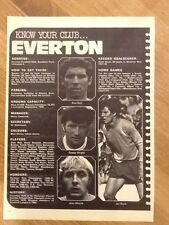 Everton Surname Initial E Football Prints & Pictures