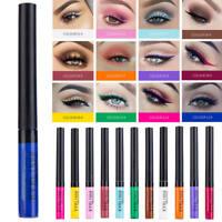 Waterproof Glitter Shimmer Liquid Eyeliner Matte Eye Liner Eyeshadow Eye Makeup