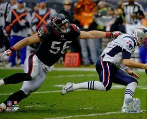 Brian Cushing Houston Texans NFL Licensed Unsigned Glossy 8x10 Photo B
