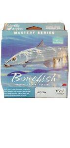 SA Mastery Bonefish taper WF-9-F Horizon Blue/Gray color