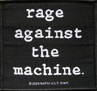 RAGE AGAINST THE MACHINE AUFNÄHER / PATCH # 17