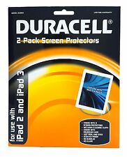 Duracell iPad 2 and iPad 3 Screen Protectors Set