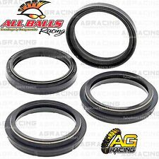 All Balls Fork Oil & Dust Seals Kit For Kawasaki KX 125 2004 04 Motocross Enduro