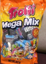 Trolli Mega Mix Gummy Lollies candy 851g Party Pack -90Pieces - gummy candy