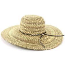 Gorras y sombreros de mujer de color principal marrón de paja
