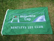 New listing Large Heinekin Advertising Rugby Flag 5Ft X 3Ft