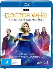 Doctor Who Series 12 - Blu Ray Region B