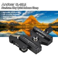 """Andoer Camera Tripod Quick Release Clamp Lever Knob-Type 1/4"""" F.Arca Swiss Plate"""