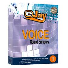 ✨ eJay Voice Sound Samples 1. Male,Female,HQ WAV, Digital Audio, all DAW, Vocal