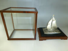 Magnificent Solid Sterling Silver Ship By Seki Takehiko Japan ( Watch The Video)