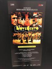 Novecento di Bernardo Bertolucci (edizione restaurata 2018) Locandina 33x70