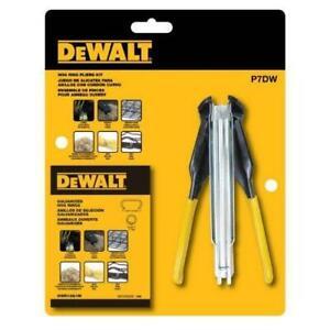 """DeWALT P7DW Hog Ring Pliers Hand Tool Kit - 11/16"""" Fasteners"""