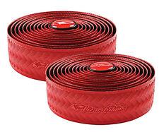 Lizard Skins DSP 3.2mm Road Bike Bicycle Handlebar Bar Tape + Plugs - Red