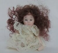 Vintage Artisan Miniature Dollhouse Jointed Bisque Baby Doll