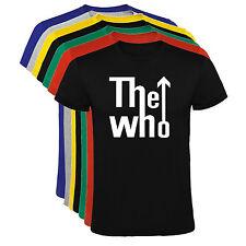 Camiseta The Who grupo musica Hombre varias tallas y colores a092
