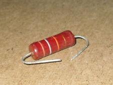 Radio/Electronics/Amplifier.  2 - Watt PIHER Resistor.    1.5Kohm.    NOS.