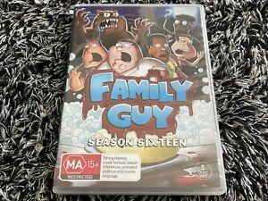 Family Guy : Season 16 DVD (PAL, 2016, 3 Disc Set) Free Post