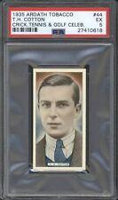 1935 Ardath Tobacco HENRY COTTON #44 PSA 5 EX Golf Celebrity