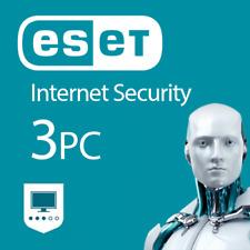 Eset Internet Security 2018 3 dispositivos 3 PC 1 Año Mac Android Key EU / es