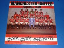 "MANCHESTER UNITED FOOTBALL TEAM - ""GLORY, GLORY..."" - 7"" RECORD 45 RPM WORLD CUP"