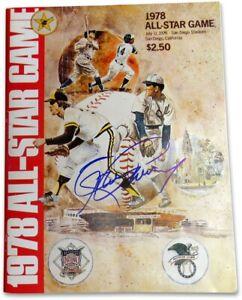 Steve Garvey Signed Autographed Program 1978 All-Star Game Dodgers w/COA