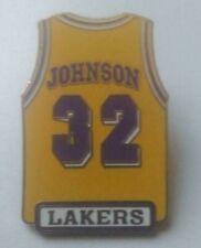 NBA Los Angeles Lakers Magic Johnson Pin 1998 Peter David