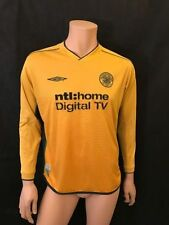 Maillots de football jaune Umbro