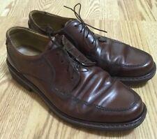 Ecco Boston Lace Up Leather Oxfords Shoes Brown Men's Sz US 10-10.5 EU 44 Nice!