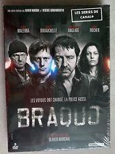 Coffret 3 DVD—Série Canal+—Braquo—Episodes 1 à 8—Neuf