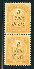 Nicaragua MH Bluefields Specialized: MAXWELL #LB155d 15c/1P in Pair $$$