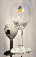 LAST 4 --Leffe Abbey, Anno 1240, MINI Belgian Craft Beer Taster Glass 15 Cl.