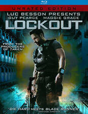 Lockout       (Blu-ray Disc, 2012, Unrated )  Guy Pearce
