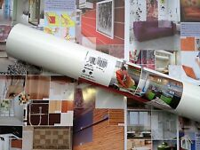 DC 200-8041 Gloss White Shelf Sdhesive Foil Covering 67.5cm x 5m German Made