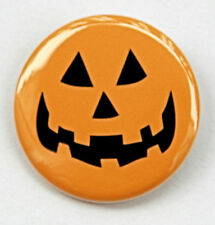 "JACK O LANTERN - Button Pinback Badge 1.5"" Halloween"