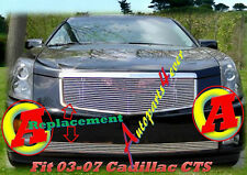 03 04 05 06 2006-2007  2005 07 Cadillac CTS Polished Billet Grille COMBO